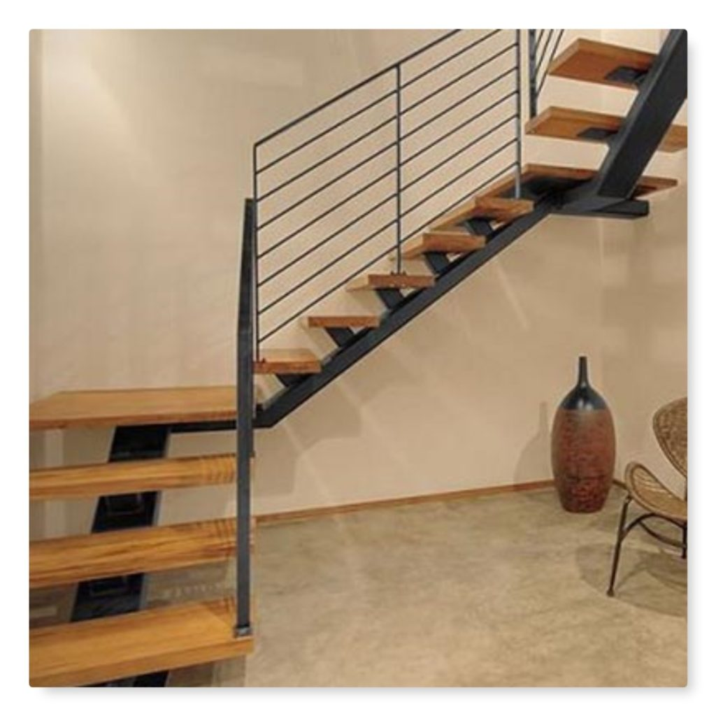 25 modelos de escaleras de hierro y madera jul 2018 for Escaleras metal madera para interiores